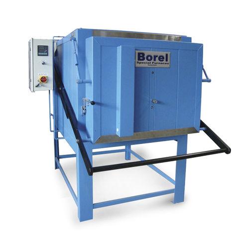 horno tratamiento térmico / de cámara / resistencia eléctrica