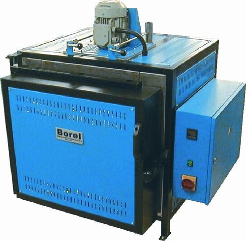 Horno tratamiento térmico / de cámara / eléctrico / con circulación de aire FT 600 SOLO Swiss & BOREL Swiss