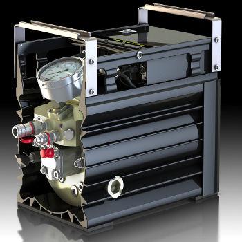 bomba hidráulica eléctrica / de pistón / compacta / robusta