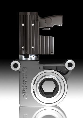 destornillador de tuercas neumático / modelo de pistola