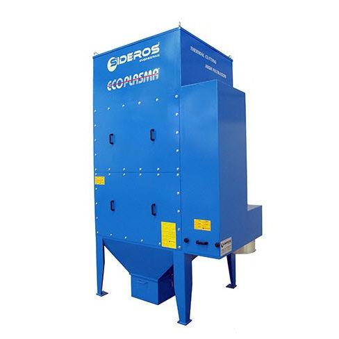 desempolvador de carbón activado / limpieza a contracorriente / compacto / modular