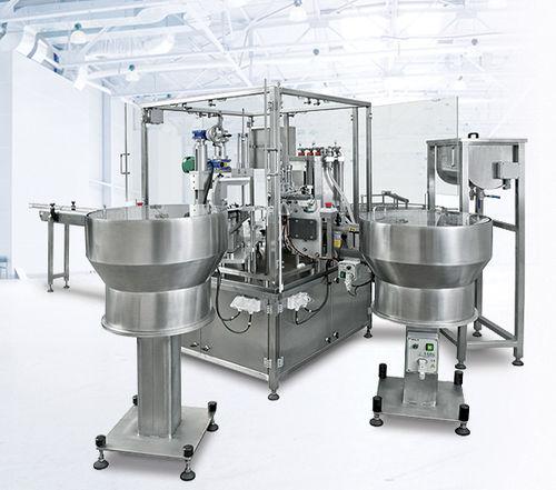 máquina de acondicionamiento automática / para la industria agroalimentaria / para la industria cosmética / para la industria farmacéutica