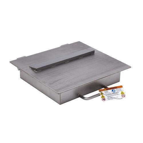 separador magnético de placa / de materiales secos / de líquidos / con imán permanente