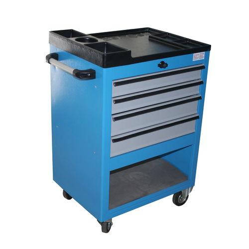 armario de taller / con ruedas / con 4 cajones / con estantes