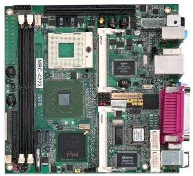 placa madre mini-ITX / Intel® Core™ 2 Duo / Intel 945G / DDR2 SDRAM
