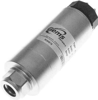 transductor de presión relativa / potenciométrico / analógico / sumergido