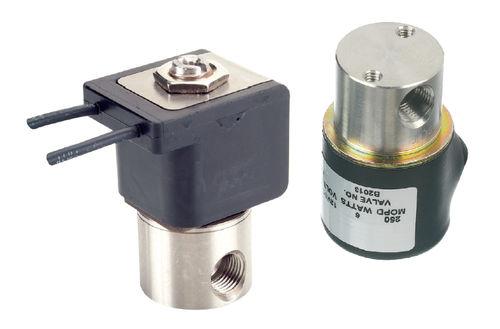 electroválvula de control directo / 3 vías / de 2 guías