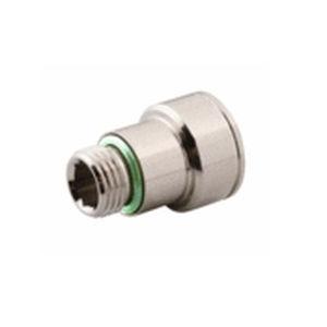 racor para refrigeración de moldes / rápido / recto / hidráulico