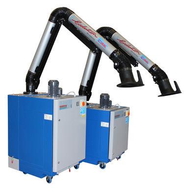 extractor de humo móvil / de soldadura / de cartucho / con brazo de extracción