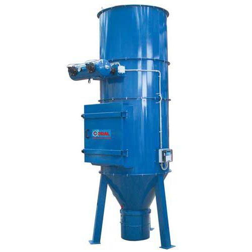 desempolvador de cartucho / con desatascador neumático / para procesos químicos
