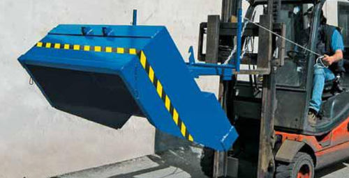 Volquete basculante para residuos 1 420 x 1 270 x 570 mm, 1 000 kg | SL 164 R SALL Srl