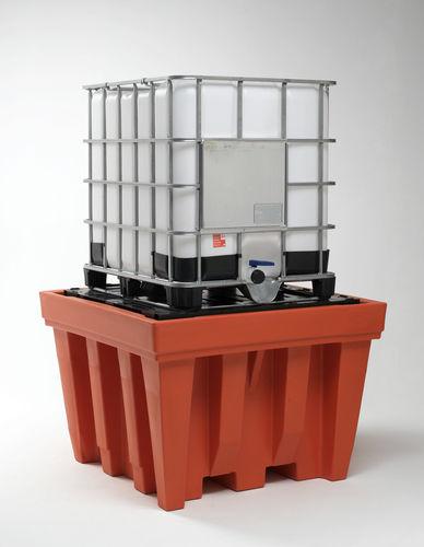 Paleta de retención para contenedor IBC / de plástico POLYECO 310 EPA SALL Srl