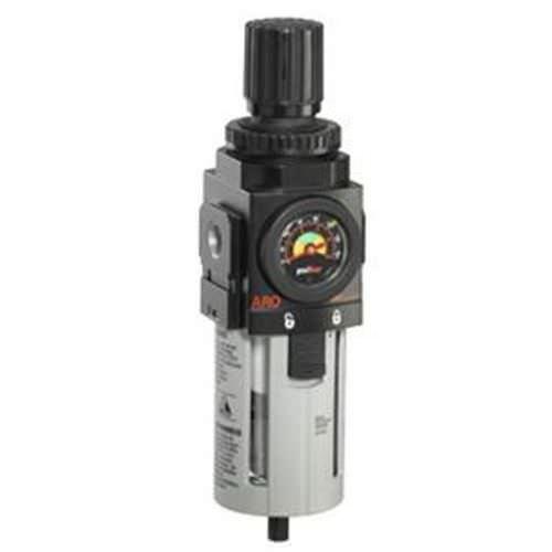 filtro regulador de aire comprimido / de policarbonato