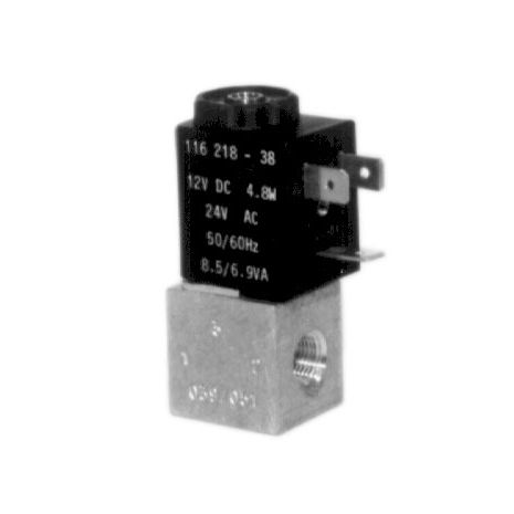 electroválvula de control directo / de 2 guías / aire