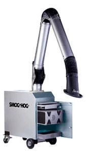 Colector de niebla de aceite / de humo / electrostático / con brazo de extracción PCN United Air Specialists