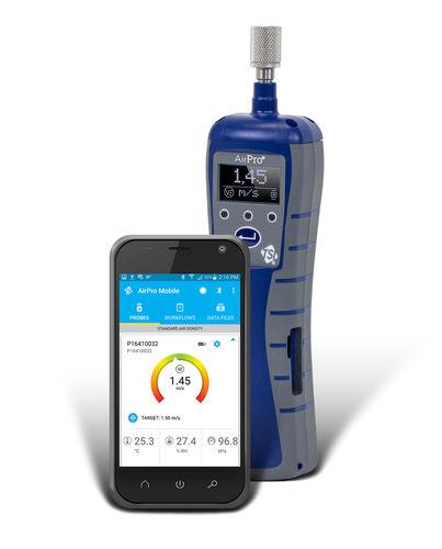 termo-anemómetro termoeléctrico - TSI