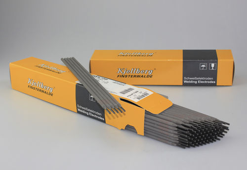 Electrodo de soldadura de recargue / en varilla / envuelto / DIN 8555 FIDUR Kjellberg Finsterwalde