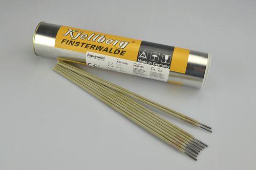 electrodo de soldadura envuelto / en varilla / para soldadura bajo el agua / DIN 2302