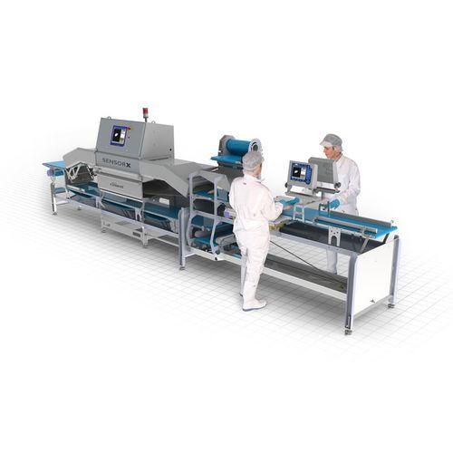 Detector de partículas / para la inspección / para productos alimentarios SensorX Poultry Marel France