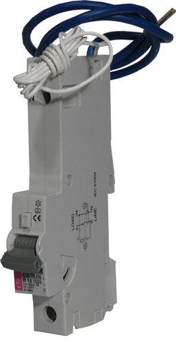 interruptor diferencial de sobrecorriente / en caja moldeada / en riel DIN