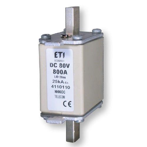 fusible NH / de protección contra cortocircuitos / para aplicaciones de telecomunicaciones