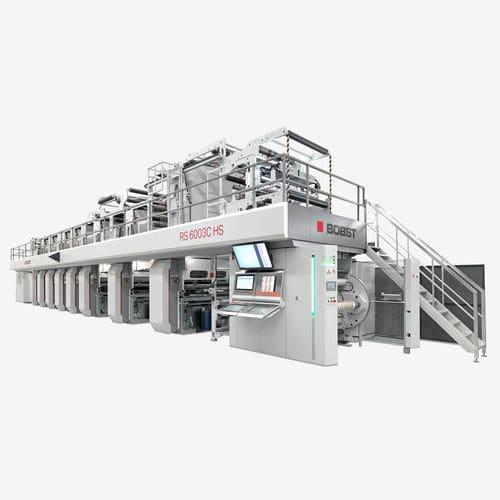 máquina de impresión por huecograbado / multicolor / de alta velocidad / automática