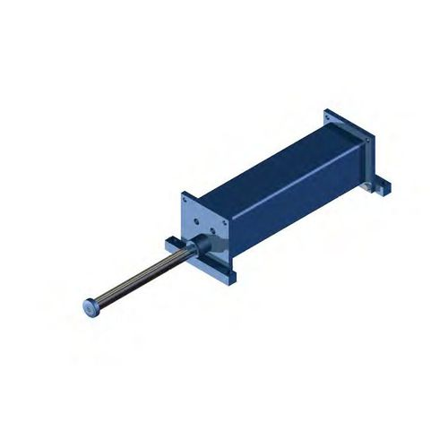 Amortiguador de choque / hidráulico / para máquina / para aplicaciones de baja temperatura IPS series Römer Fördertechnik GmbH