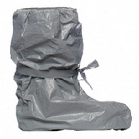 Ropa de protección química / cubrebotas / de polietileno / antiestática Tychem® F POBA DuPont Personal Protection