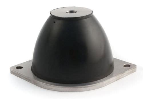 amortiguador de vibración / de choque / neumático / para máquina