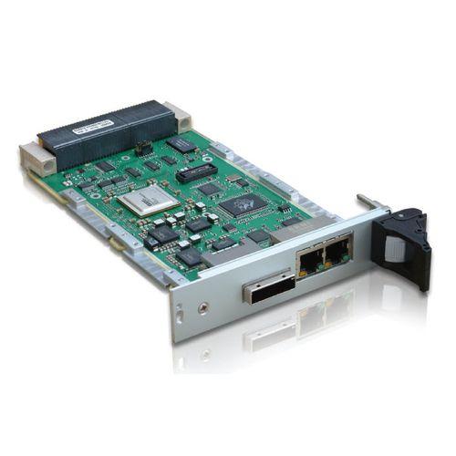 tarjeta switch Ethernet administrable / 24 puertos / Ethernet / Gigabit Ethernet