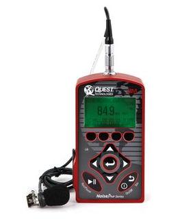 Dosímetro de ruido / personal NoisePro Quest Technologies