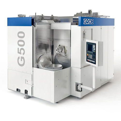 Centro de mecanizado 3 ejes / horizontal / modular G500 GROB-WERKE