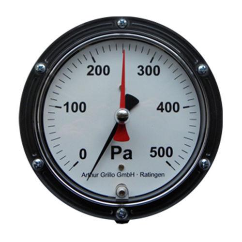 manómetro de esfera / de membrana / para aire / para gas neutro