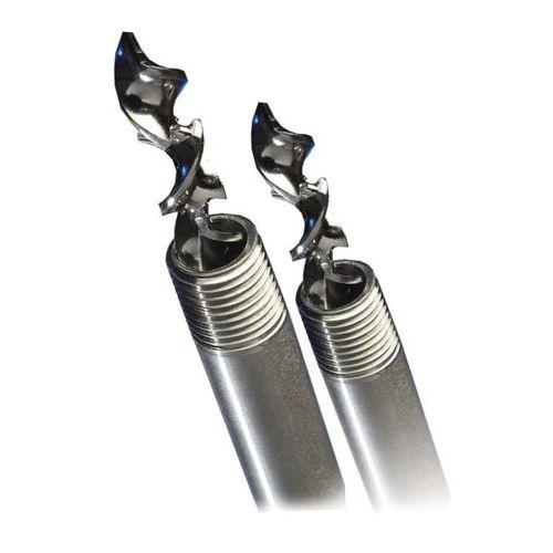 mezcladora estática / en línea / de acero inoxidable / helicoidal