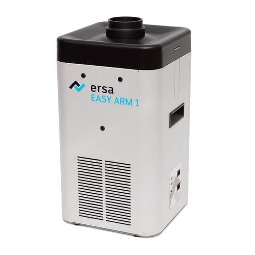 extractor de humo de pie / de soldadura fuerte / con filtro de carbón activado / con brazo de extracción