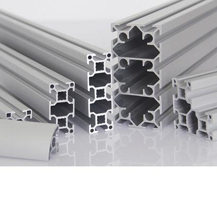 Perfil aluminio modular