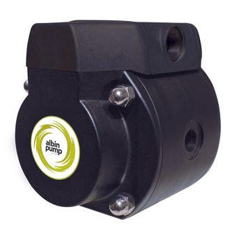Bomba neumática / para productos químicos / para productos agroalimentarios / de doble membrana AD series Albin Pump AB