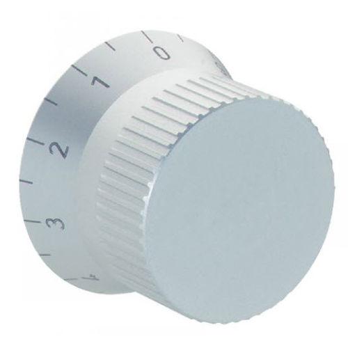 botón de mando moleteado / mecánico con indicador de posición