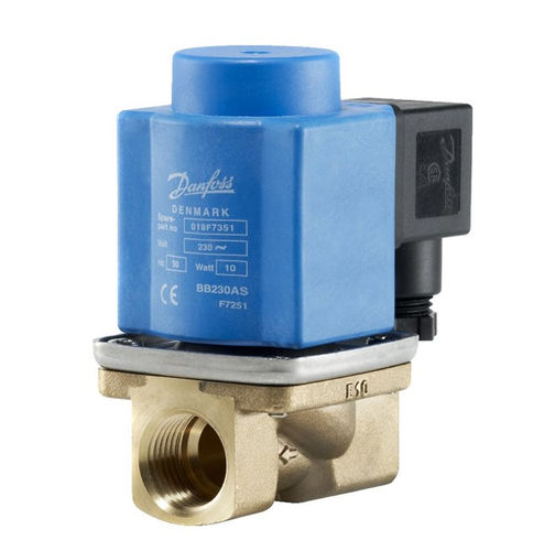 electroválvula de control asistido / de 2/2 vías / NC / agua