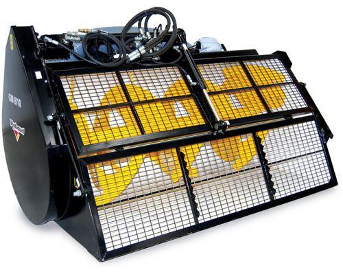 Cuchara mezcladora de hormigón / para excavadora / para minicargadora / para manipulador telescópico Turbomix series  RABAUD
