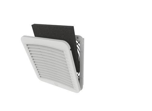 ventilador para armario eléctrico / axial / con filtro / IP55