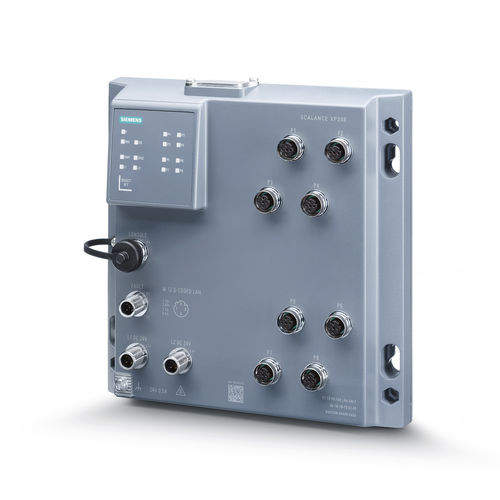 conmutador Ethernet administrable - Siemens Industrial Communication