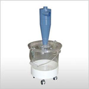 desempolvador de ciclón / limpieza a contracorriente / compacto / móvil