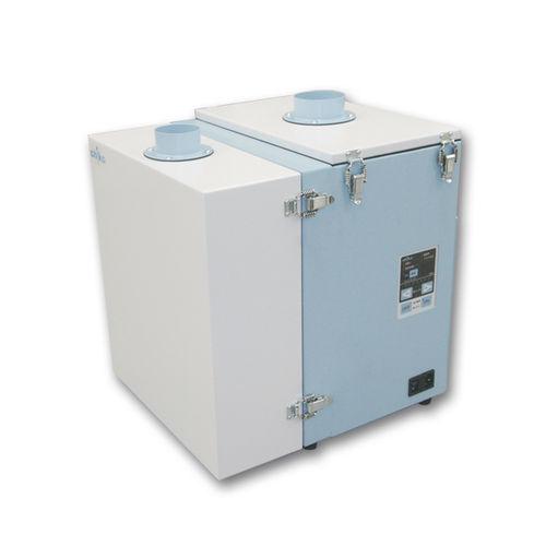 extractor de humo estacionario / de marcado láser / con filtro de carbón activado / compacto