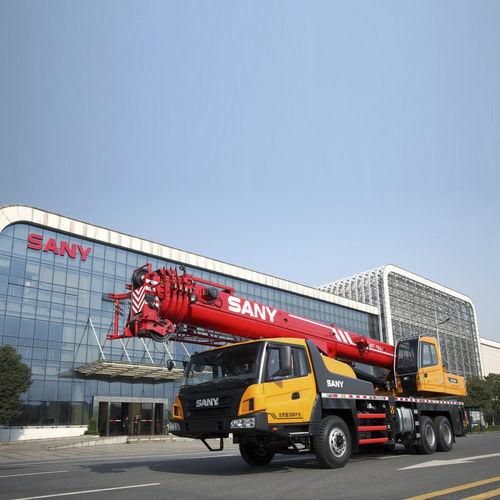 Grúa montada sobre camión / móvil / telescópica / para obra de construcción STC550 SANY Group Co.,Ltd