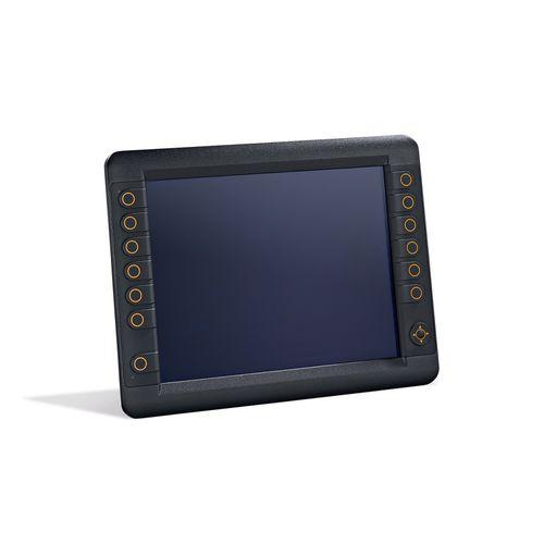 HMI de vigilancia / con pantalla táctil / con teclado / empotrable