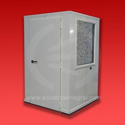 cabina de insonorización / para entorno ruidoso / portátil