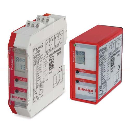 detector de lazo inductivo / compacto / con pantalla LCD / para portón