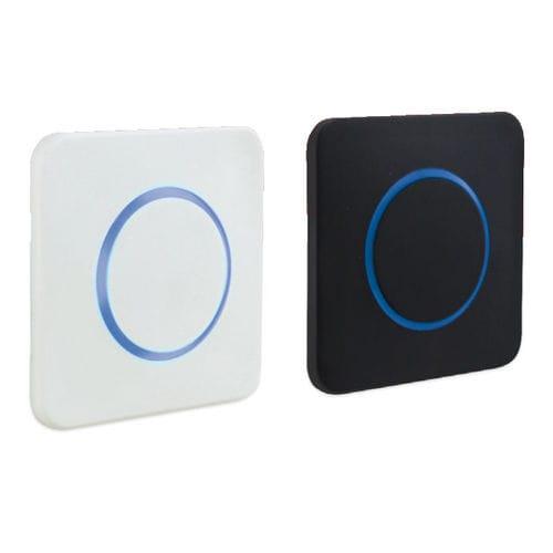 interruptor abre puerta / con luz LED / sin contacto / IP65