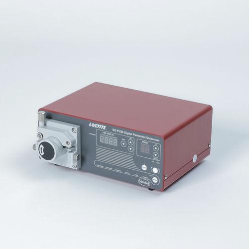 dosificador con bomba peristáltica / para líquido de baja viscosidad / de cola / monocomponente